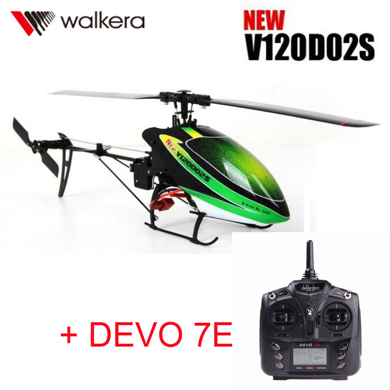 Original Walkera New V120D02S+DEVO 7E Transmitter MINI 3D 6CH 6-Axis gyro RC helicopter with Remote Controller+battery +Charger винный шкаф до 140 см caso wineduett 21