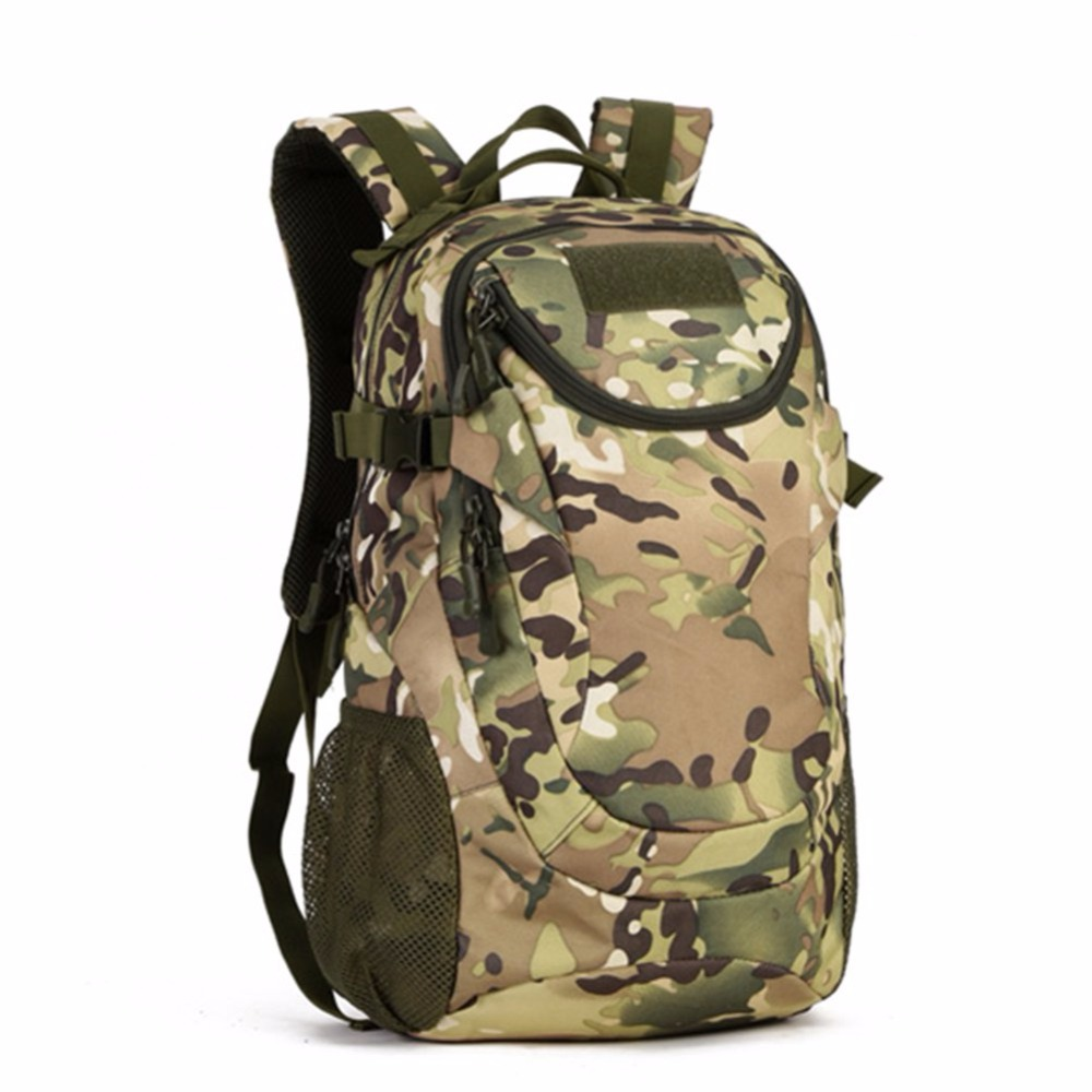 25L Tactics Outdoor Waterproof Mountaineering Travel Laptop Women Backpack Male Camouflage Hike Camp Backpack 35l waterproof tactical backpack military multifunction high capacity hike camouflage travel backpack mochila molle system