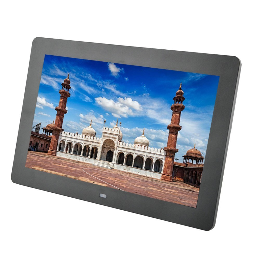 10 inch TFT Screen LED Backlight HD 1024*600 Digital Photo Frame Electronic Album Picture Music MP3 MP4 Porta Retrato Digital10 inch TFT Screen LED Backlight HD 1024*600 Digital Photo Frame Electronic Album Picture Music MP3 MP4 Porta Retrato Digital