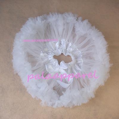 Новорожденный фотографии реквизит ребенка юбка для девочек юбки Pettiskirts шифоновое летнее одежда для малышей - Цвет: Белый