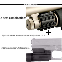 Rifle 500 Remington 870 1 Magazine Tube Mount 300 Lumen LED Flashlight For Tactical Hunting Shotgun