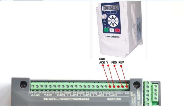4 Axis NVUM Mach3 USB Motion Control Card