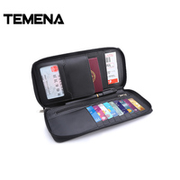 Temena Travel Passport Cover Wallet Travelus Waterproof Credit Card Package ID Holder Storage Organizer Clutch Money