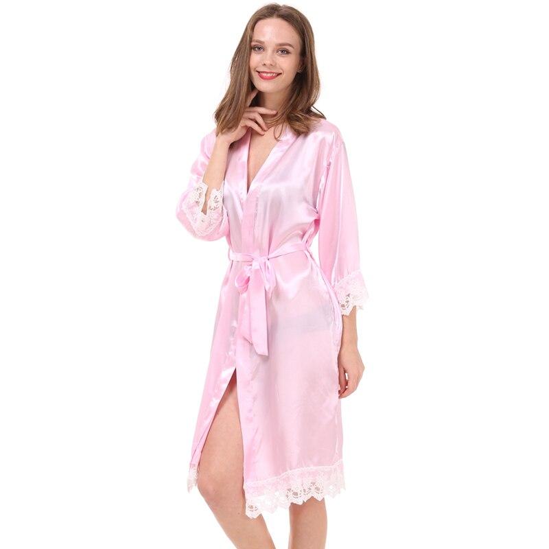 318f3314 ₪2016 Druhna Szata Moda Damska Bridal Kobiety Kimono Robe Sexy Silk ...