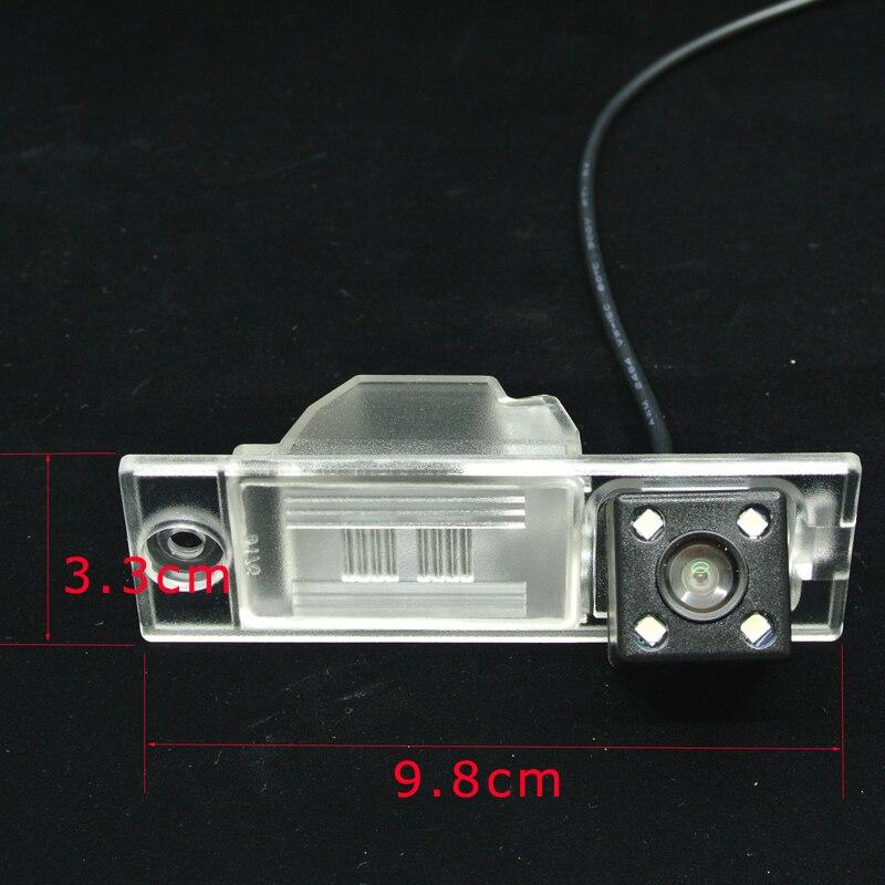 ANSHILONG Auto Hintere Ansicht-rückseite Kamera mit 4 stücke LED für 2013 hyundai ix35/Neue Tucson