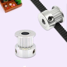 1PCS Silver GT2 20 Teeth Synchronous Pulleys Bore 8MM 3D Printer Parts(China)