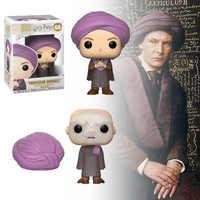 Funko Pop Herr Voldemort Hinter Professor Quirrell Vinyl Puppen HERR VOLDEMORT Modell Sammlerstücke für Fans Harri Potter Spielzeug Geschenk