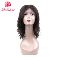 Beau Hair Brazilian Lace Front Human Hair Wigs For Women Black Color Remy Hair Wig With