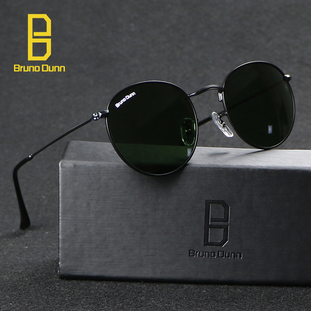 42873dd305 Round Sunglasses Men Women 2018 luxury Brand Designer Sunglases Female  Gafas Oculos De Sol Feminino Eyewear 3447 Steampunk Ray