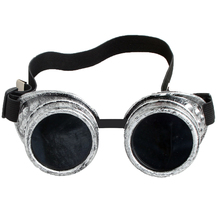 Cheap Gothic Victorian Goggles Retro Welding Punk Steampunk Cosplay  Glasses 2017 Hot Sale Halloween