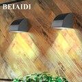 BEIAIDI Водонепроницаемый светодиодный светильник для крыльца  настенный светильник для сада и коридора  прохода  крыльца  настенный светильн...