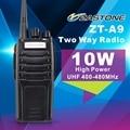 For America  customer New 10W High Power  Zastone Walkie Talkie ZT-A9 UHF 400-480MHz Two Way Radio in US stock