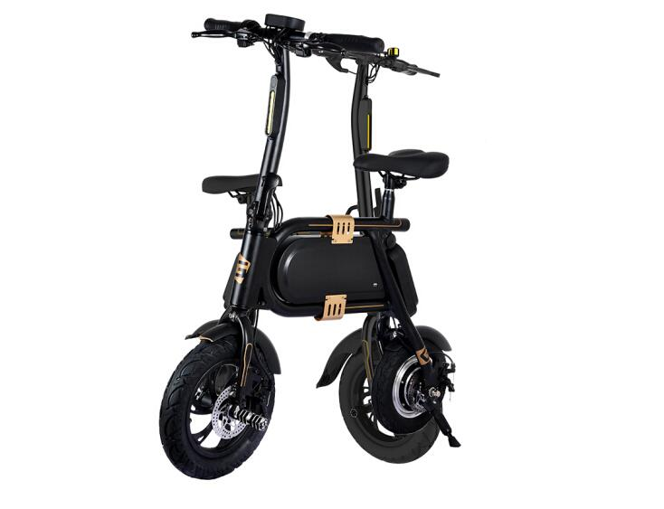 No Tax Electric Folding Bike Micro Electric Vehicle Two Wheels Portable font b Bicycle b font