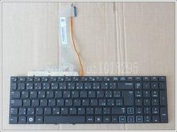 NOVA CZ/Checa Teclado Do Laptop Para Samsung RF710 RF711 RF712 RF730 CZ Preto com luz de fundo no frame