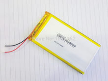 Litro de energia da bateria 3.7 V 5000 mAh Polímero de Lítio rechareable Bateria Li Para Tablet PC Mobiles Power Backup 6560110