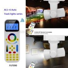 milight 25W 2-wire/4-wire dimmer/Dual White/RGBW 99 Groups led Auto Track light AL1/Al2/Al3/AL4/AL5/AL6 +FUT090 Remote