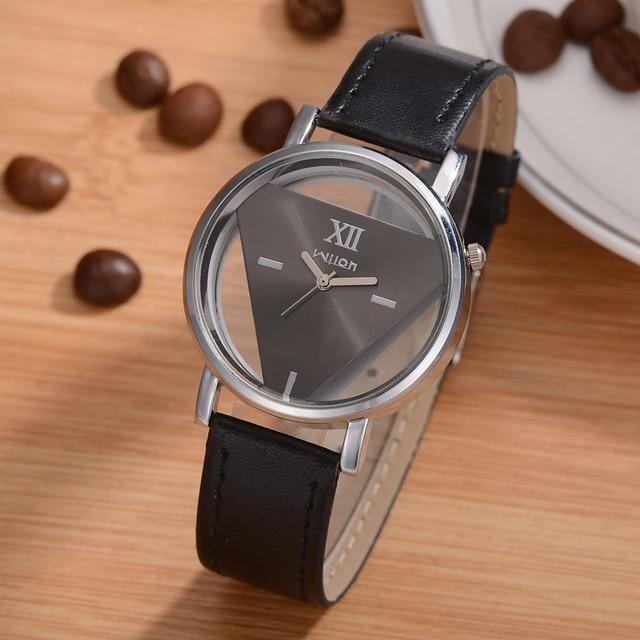 Fashion Leather Quartz Watch Women Wrist Watches For Ladies Wristwatch Female Cl