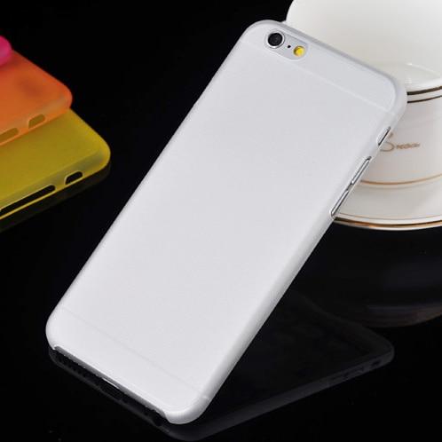Nuevo 0,3mm Delgado Ultra delgado colorido translúcido diseño mate cubierta trasera funda de teléfono para iphone 6 funda multicolor de 4,7 pulgadas opcional