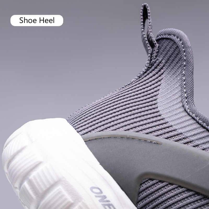 Onemix กีฬาฤดูร้อนผู้ชาย Breathable วิ่งรองเท้า Unisex เดิน Jogging รองเท้าการฝึกอบรมรองเท้าผ้าใบขนาดใหญ่ Size47