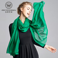 220*66CM Pure 100%Silk Solid Women's Scarves New 2016 Long Foulard shawls Ladies Portugal Jersey Scarf Wraps 11Colors L