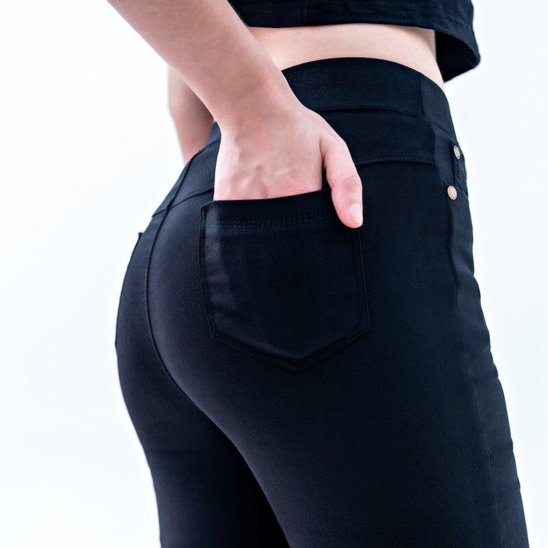 Sena Rickey Leggings For Women Skinny Slim Black Blue Leggings Casual High Waist Elastic Pencil Pants Plus Size
