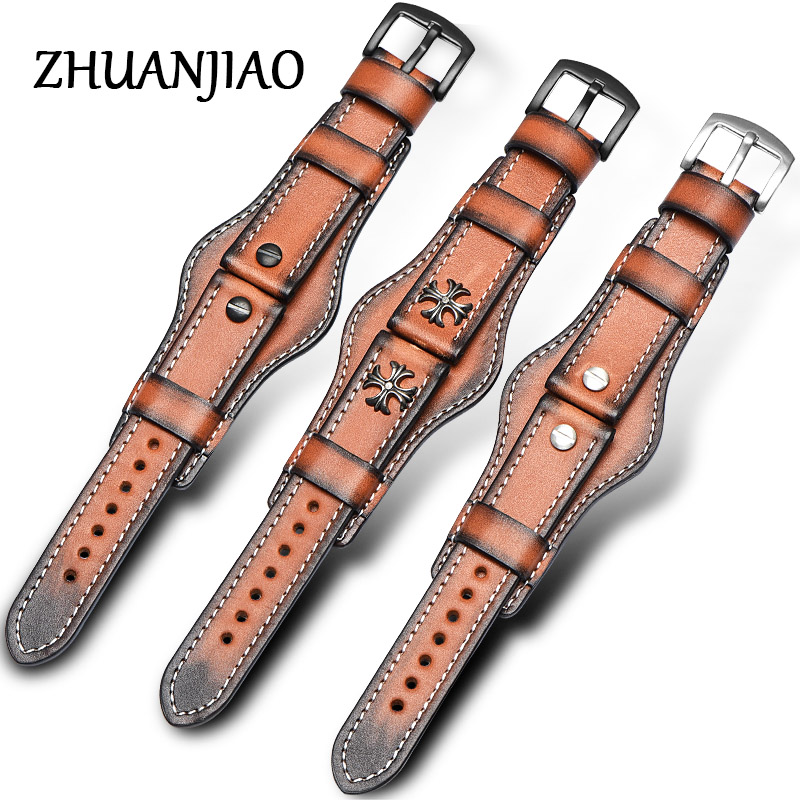 handmade watch straps 22mm italian genuine leather watch band handmade Retro Genuine Leather Watch Band Strap free shipping 2017 flower girls dress for wedding bow tie champagne dress kids pageant gowns princess party dresses baby girl clothes toddler page 3 page 1