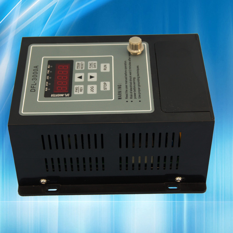 VFD 0.4KW onduleur 220 V AC Fréquence Onduleur 1 phase d'entrée 3 phase 220 V sortie