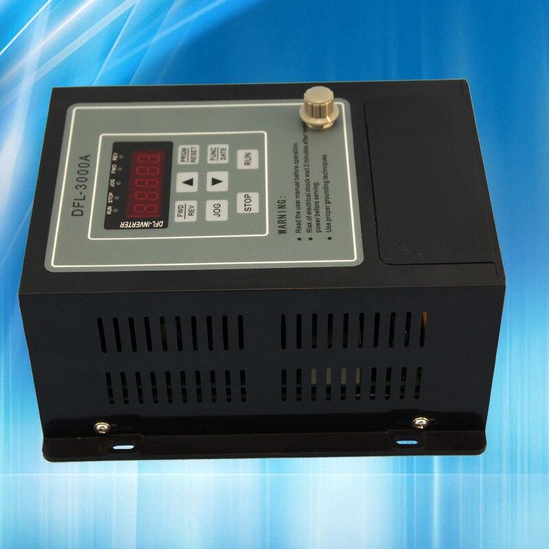 где купить VFD 0.4KW inverter 220V AC Frequency Inverter 1 phase input 3 phase 220 V output по лучшей цене