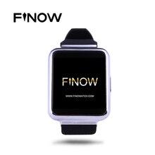 Finow Q1 Nouvelle Arrivée K8 Version Améliorée Smart Watch Android 5.1 Bluetooth Wifi 3G Smartwatch Horloge Pour IOS Android