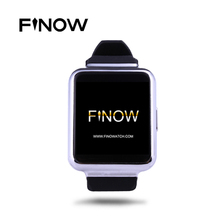 Finow Q1 New Arrival K8 Upgraded Version Smart Watch Android 5.1 512M+4G Bluetooth Wifi 3G Smartwatch Clock For IOS Android