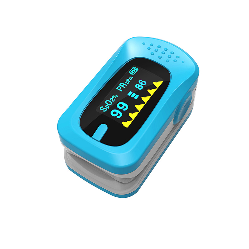 Portable Pulse Oximeter Pouch Setting Alarm Beep Fingertip SPO2 Pulse Rate Oxygen Monitor Medical Finger Pulse Saturation Meter (4)