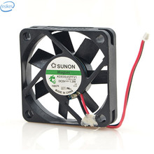 DHL Free Original KDE0545PFV1 DC 5V 1.3W 0.26A 4510 45*45*10mm 5000RPM 2 Wires Computer Blower Double Ball Cooling Fan