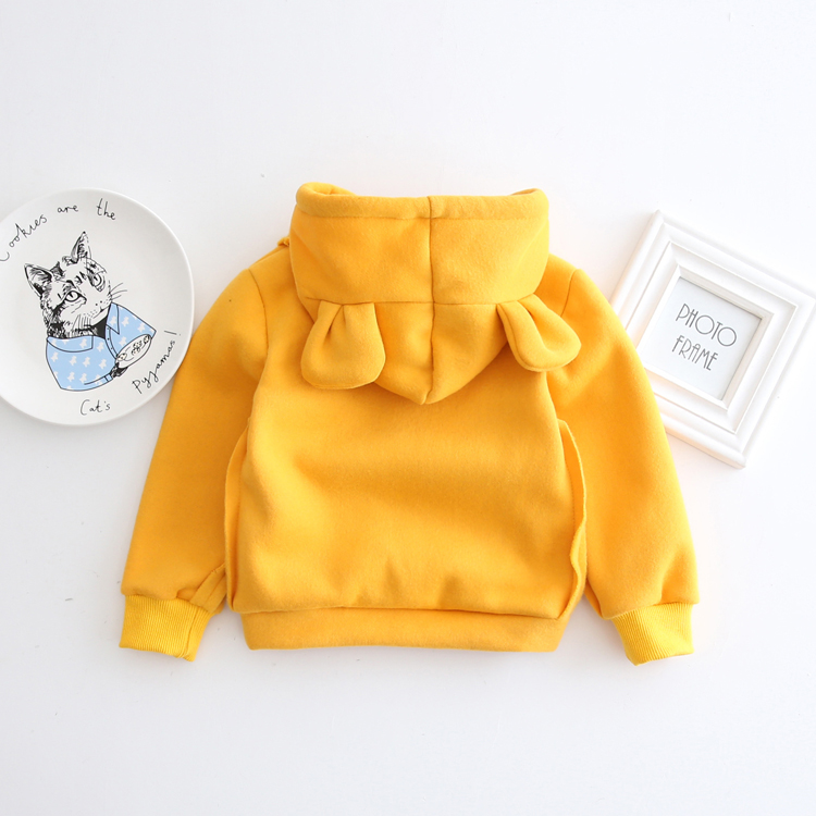 HTB1rZ1TXnZKL1JjSZFIq6x DFXaO - 1-5Yrs Children Hooded Sweatshirt Boys Cute Bear Ears Animal Hoodies Unisex Kids Clothing Girls Tops Coats Baby Casual Outwear