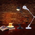 Modern Table Lamps Creative Reading Lights Metal Folding Desk Lamps With Adjustable Arm E14 LED Table Lamp
