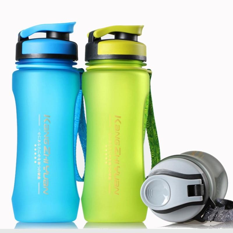 ZGJGZ Sports Water Bottle Colorful Portable Food Grade Plastic Water Bottle in Water Bottles from Home Garden
