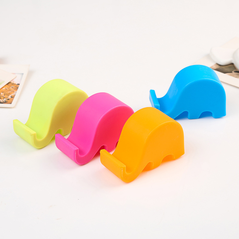 Cute elephant rack phone holders for Home deco 1