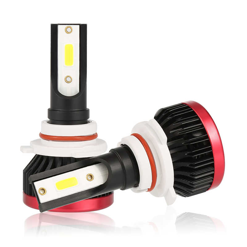 2PCS Mini H7 LED Headlight Bulbs H3 100W 20000LM LED 9006 COB Chip H1 Car Headlamp Fog Light 12v 24v