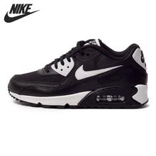 Original NIKE AIR MAX 90 Zapatos Corrientes de Las Mujeres ESENCIALES de las Zapatillas de deporte(China)