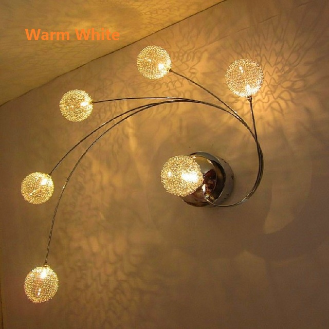 Aliexpress Com Buy Modern Led Glass Ceiling Light Aluminium Abajur Ceiling Lamp Bedroom Lamparas De Techo G4 Living Room Home Lighting Fixtures From