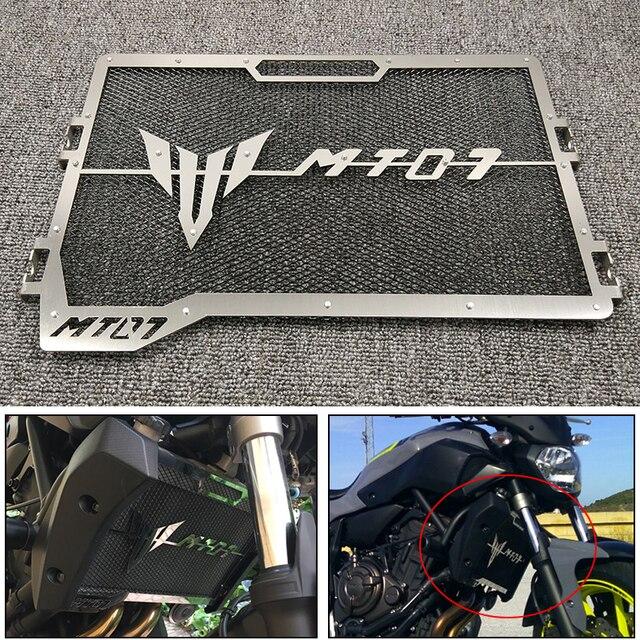 MT-07 FZ-07 MT07 2018 Moto Grade Grade de Radiador Guarda Capa Protetora Perfeita Para Yamaha 2014-2018 MT-07 FZ-07 MT07 MT 07