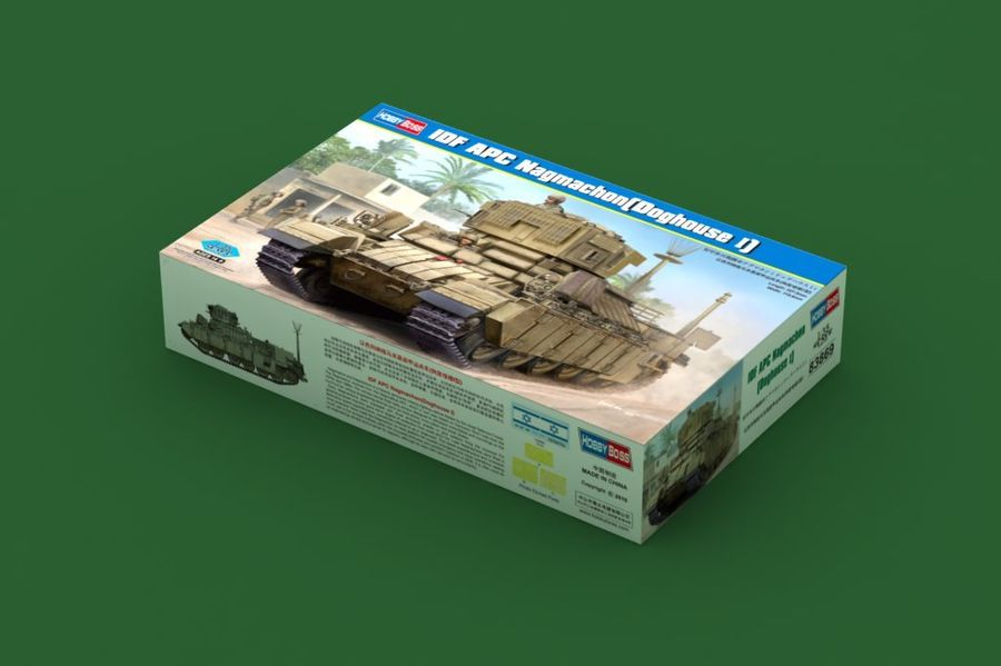 1pcs Action Figures Kids Gift Collection For Hobby Boss 83869 1/35 IDF APC Nagmachon Doghouse I Plastic Model Armor Kit