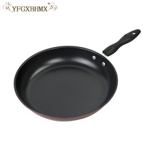Non-stick Flat Bottom Frying Pan Non-stick Pot Pancake Pot Pan With Ceramic Coating And Induction Cooking,Oven & Dishwasher safe
