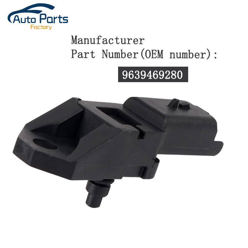 2.5 BAR Manifold <font><b>Turbo</b></font> Boost Pressure MAP Sensor For 2004-2014 <font><b>Peugeot</b></font> 1007 206 307 <font><b>407</b></font> CC SW 607 807 1.6 <font><b>2.0</b></font> <font><b>HDI</b></font> 1920.CZ image