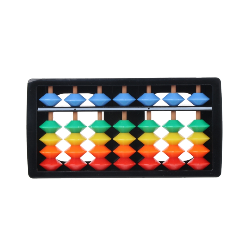 Educational Toy Colorful Abacus Arithmetic Soroban Maths Calculating Tools Educational Toy