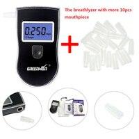 2014 Fashion Luxury LCD Breath Alcohol Tester BreathalyzersHot Selling Fashion Professional Mini Police Digital Freeshipping