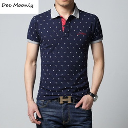 Dee moonly 2017 new brands mens printed polo shirts brands 100 cotton short sleeve camisas polo.jpg 250x250