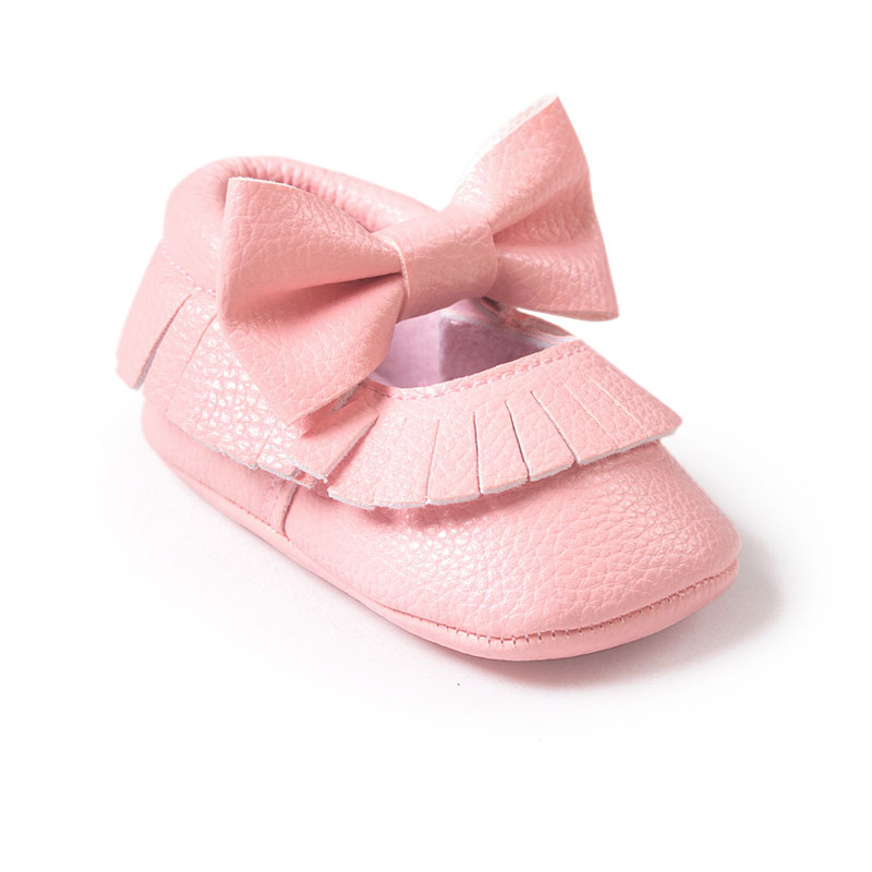 Baby-Girls-Mary-Jane-Flower-Baby-Shoes-PU-Leather-Baby-Moccasins-Gold-Bow-Girls-First-Walker-Toddler-Moccs-1