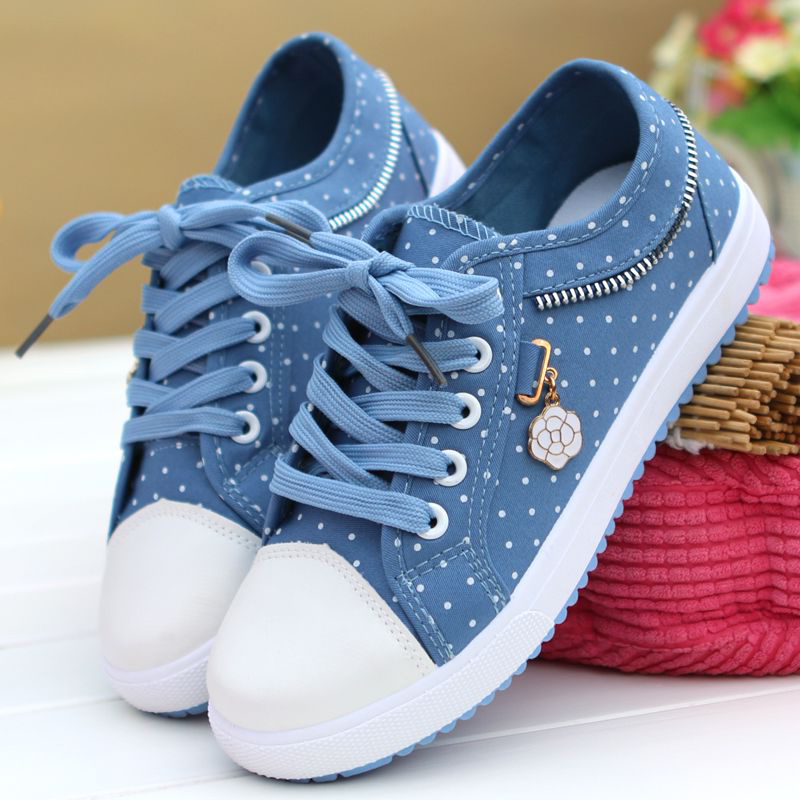 Women Vulcanized Shoes Women Sneakers 2019 Ladies Casual Shoes Breathable Ladies Walking Flat Student zapatos de mujer