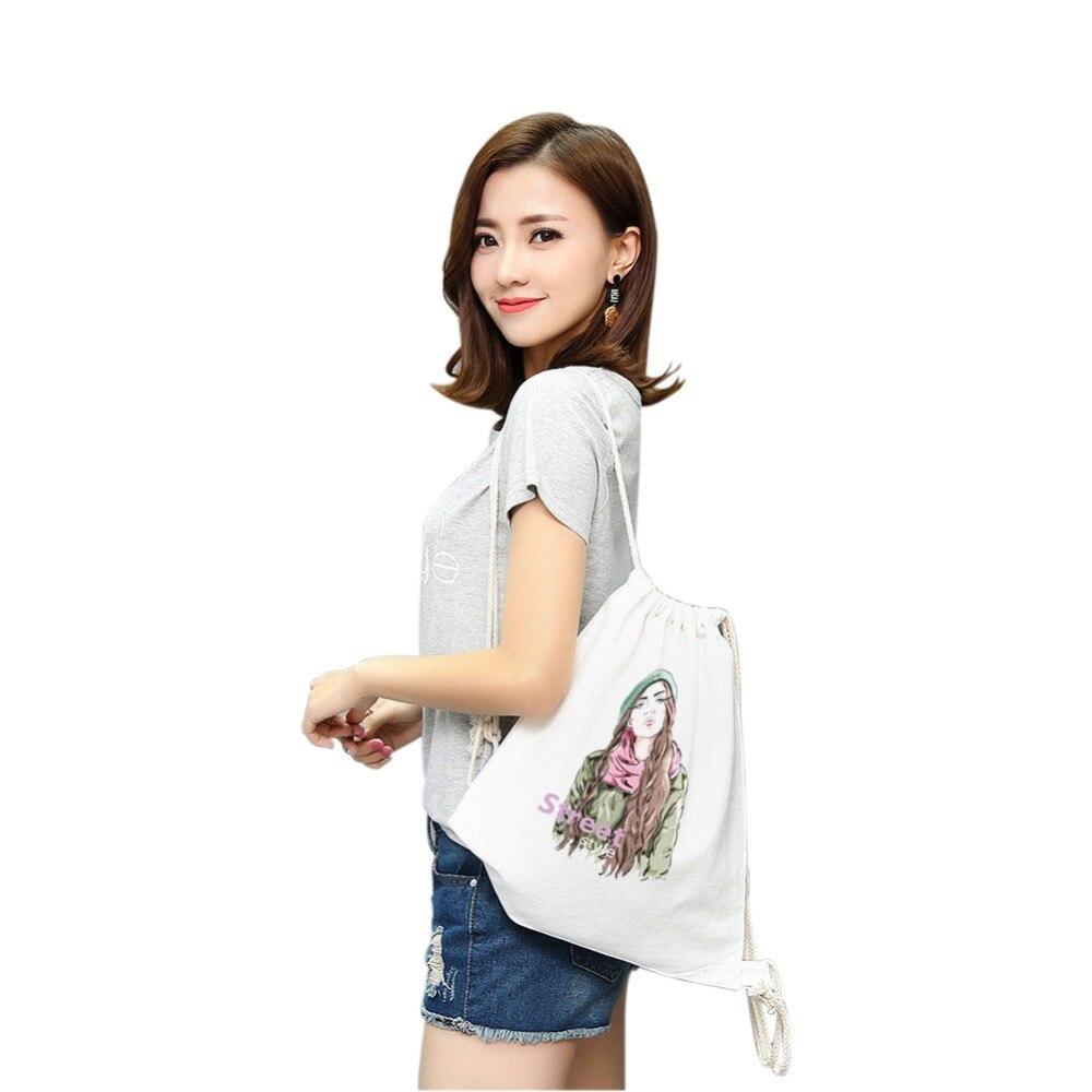 dustproof canvas drawstring internal fram no zipper woman string tool backpack delsey laptop bag retractable strap