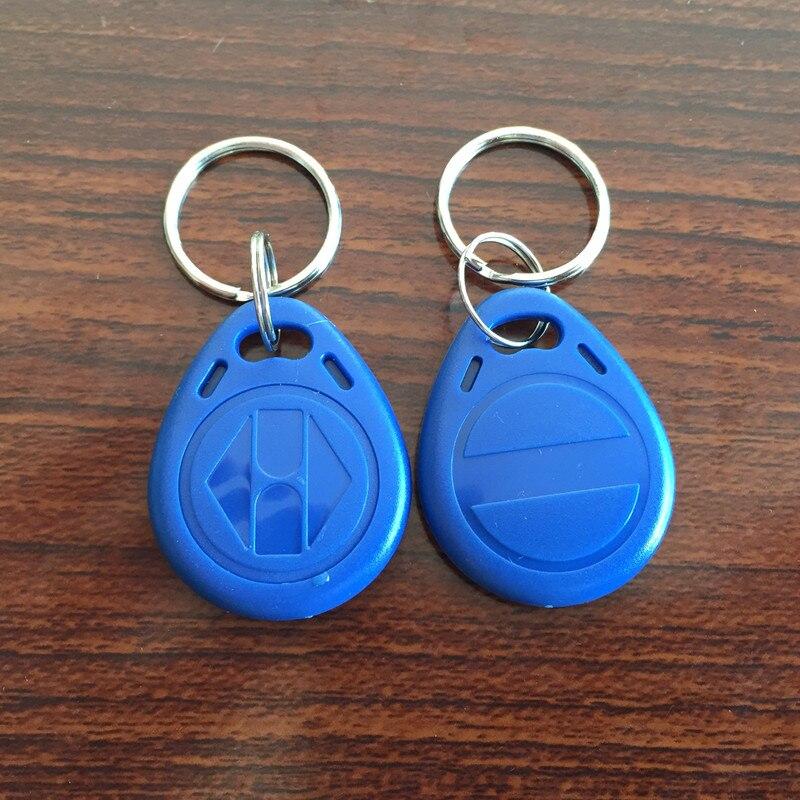 200pcs Writable Rewrite EM4305 Proximity Access Control 125khz RFID ID Keychain